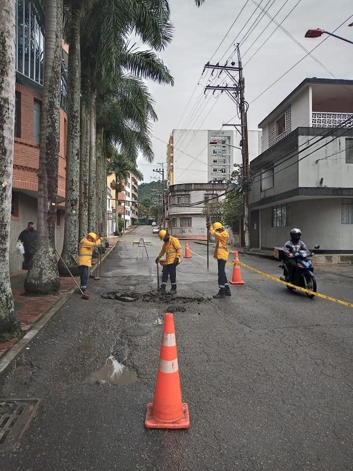 Así avanzan las obras de mejoramiento vial en el centro de Ibagué