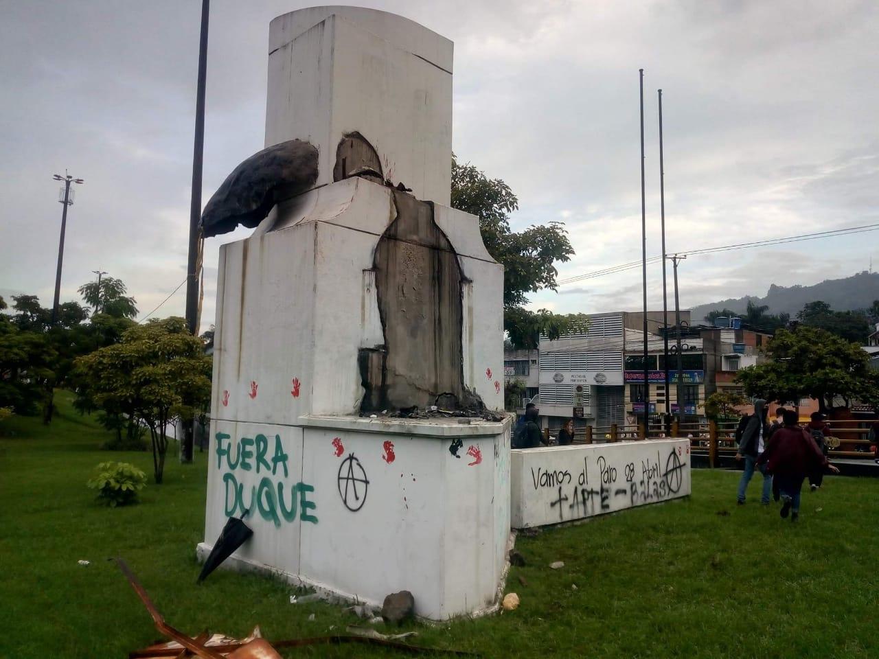 Autoridades entregaron balance de orden público sobre las manifestaciones en Ibagué