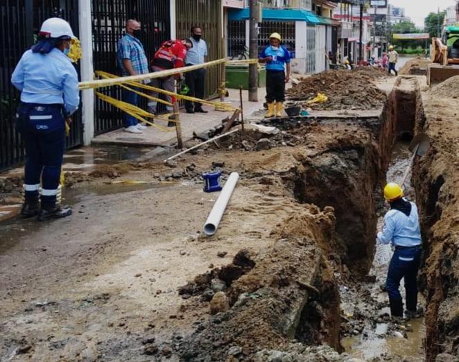 Inician las obras de reposición de redes de acueducto y alcantarillado en Ibagué