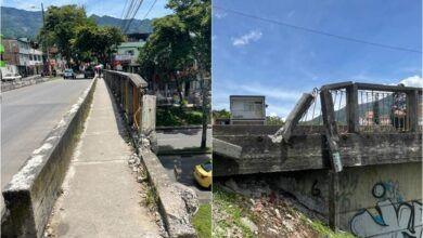 Alcaldía no ha la medida preventiva en el puente de la calle 37 sobre avenida ambalá