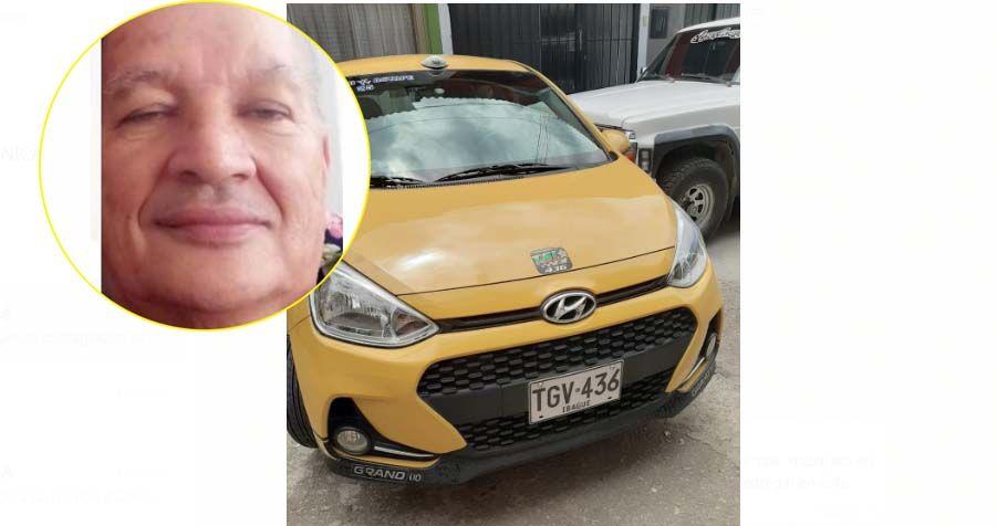 Tristeza por la muerte del taxista Fabio Enrique Patiño Ochoa