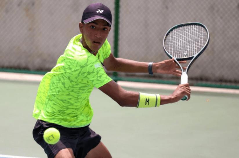 El tenista campeón Johan Rodriguez ya se encuentra en París