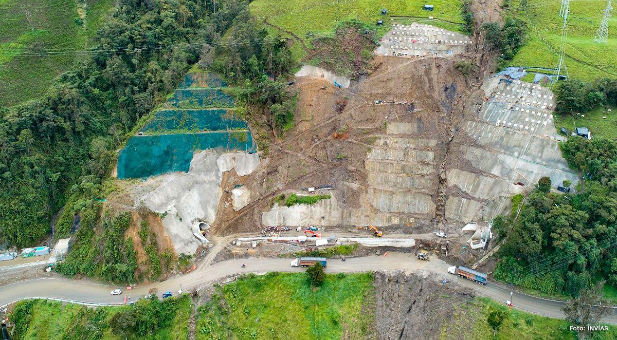 Obras del Cruce de Cordillera Central, entre Cajamarca y Calarcá, estuvieron un mes paralizadas