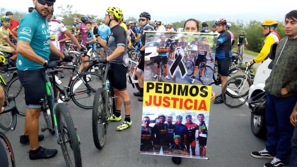 Imputado conductor por su presunta participación en el homicidio culposo de dos ciclistas