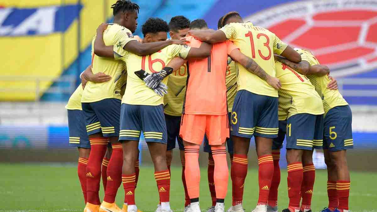 La selección Colombia está lista para el encuentro con Perú