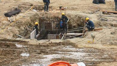 Por desabastecimiento de acero en el país, se suspenderán las obras del Coliseo Mayor