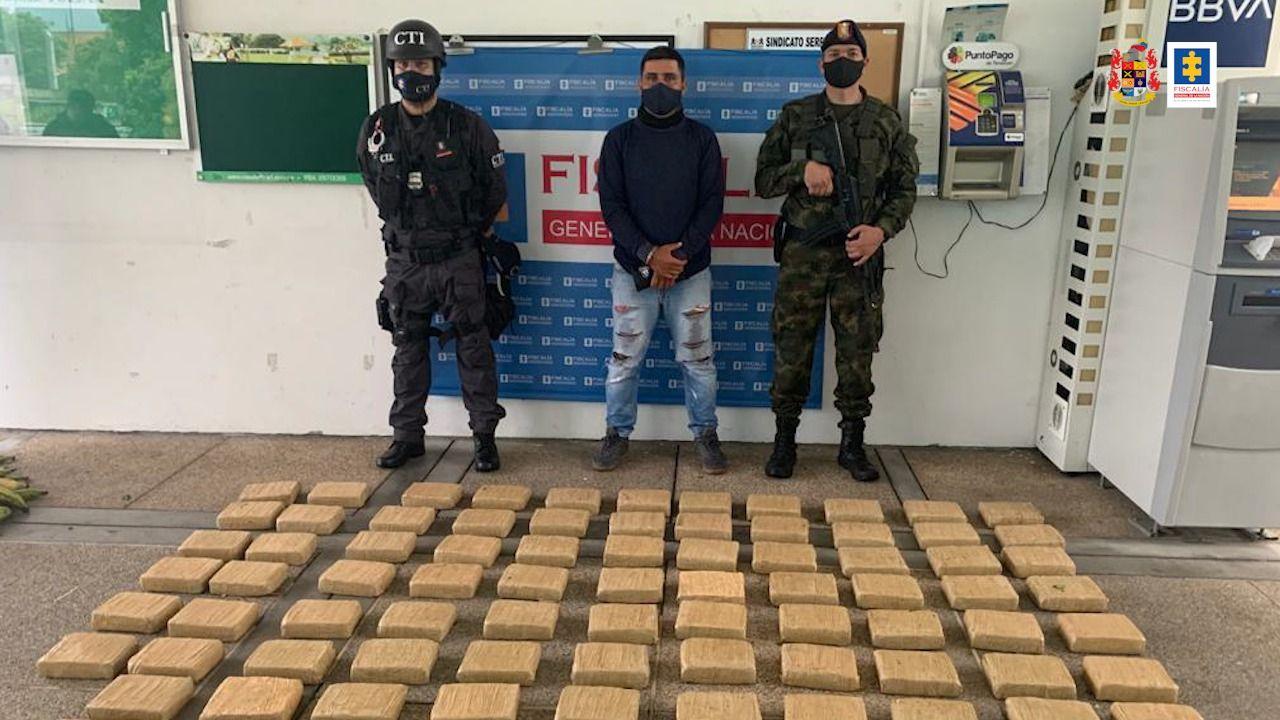 Descubierta marihuana entre carga de platano transportada en carreteras de Tolima