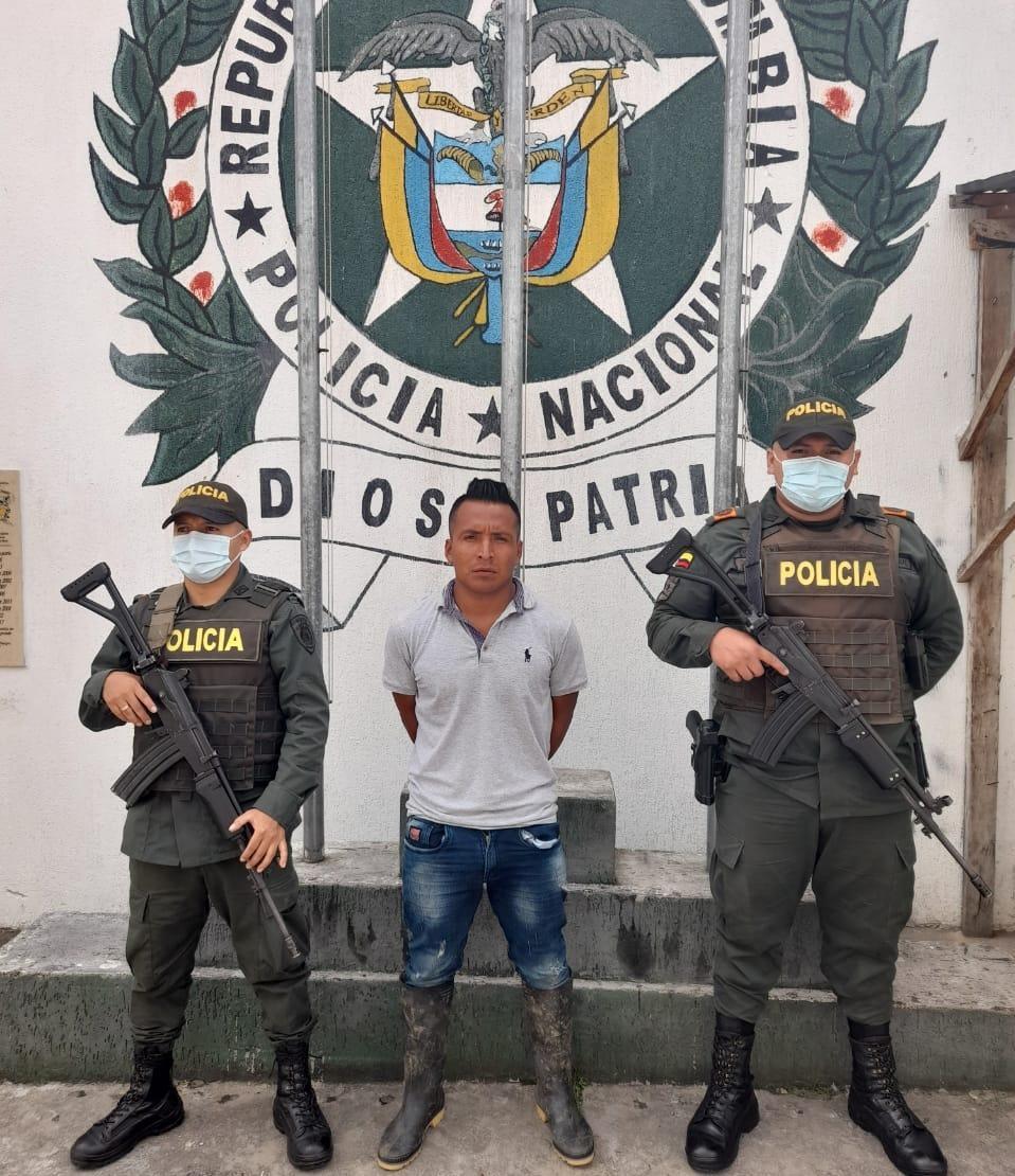 Cae presunto sicario del grupo armado residual Dagoberto Ramos