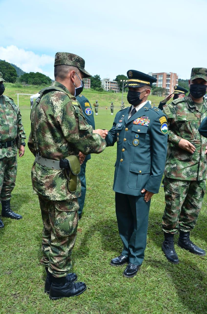 En total, 46 oficiales del Ejército Nacional ascendieron al grado superior en la Sexta Brigada