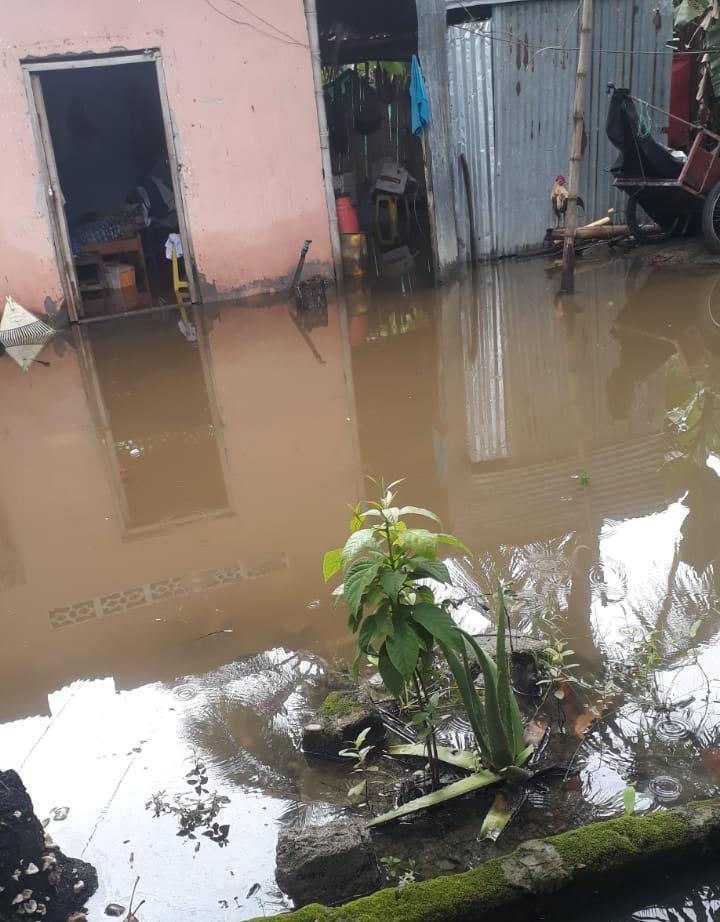 El departamento reporta lluvias con presencia de vientos y tormentas eléctricas