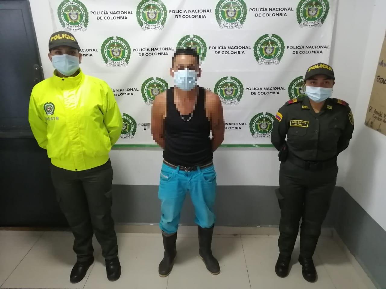 Captura de un sujeto conocido como 'cachi' por los delitos de homicidio agravado y tráfico de armas