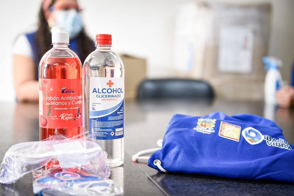 Alcaldía dotará con 80mil kits de bioseguridad a colegios de Ibagué