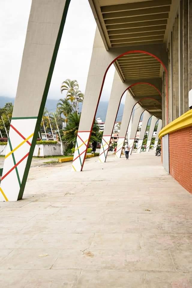Inauguración de las nuevas obras del estadio Manuel Murillo Toro