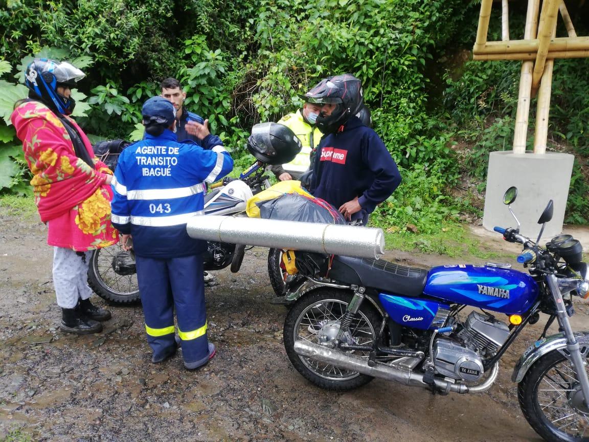 Más de 400 personas fueron sensibilizadas al ingreso del Cañón del Combeima