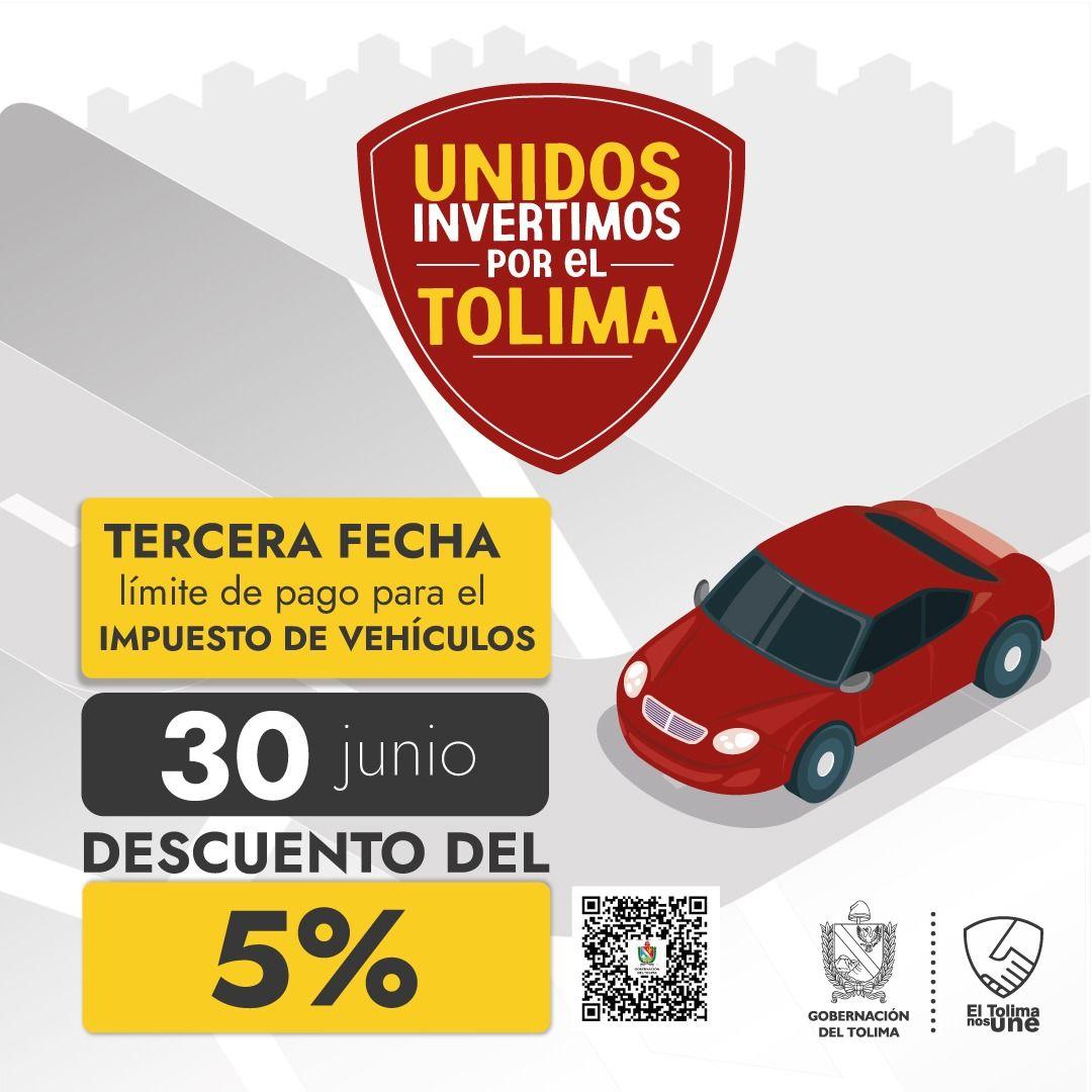 Quedan 15 días para pagar el impuesto de vehículos con el 5% de descuento