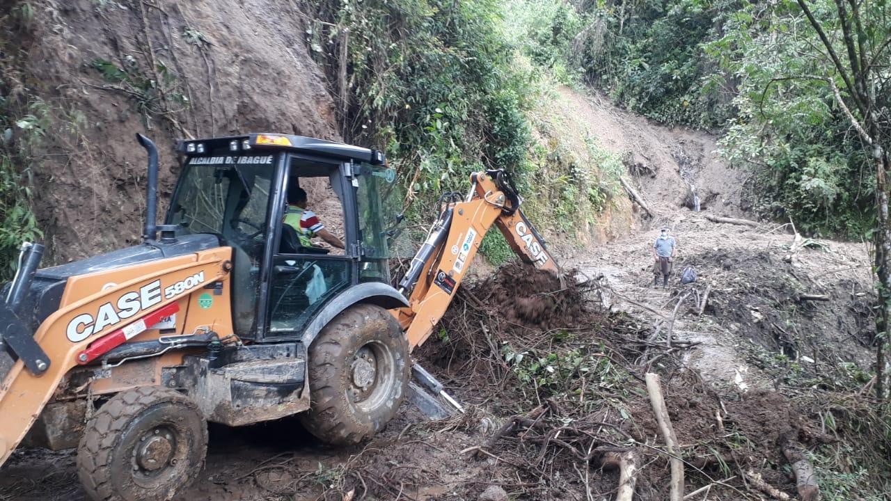 Más de cuatro emergencias por lluvias atiende la Alcaldía de Ibagué en la zona rural