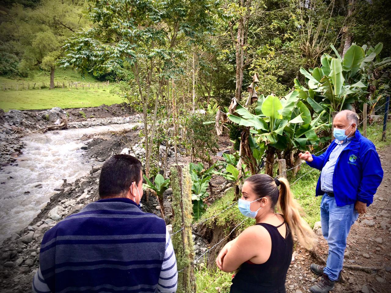 Cortolima sigue de lado de la comunidad del Cañón del Combeima