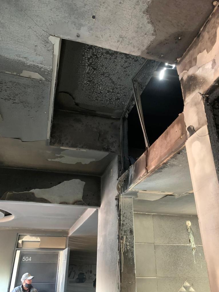 Bomberos de Ibagué sofocaron incendio en el sector de la Arboleda Campestre