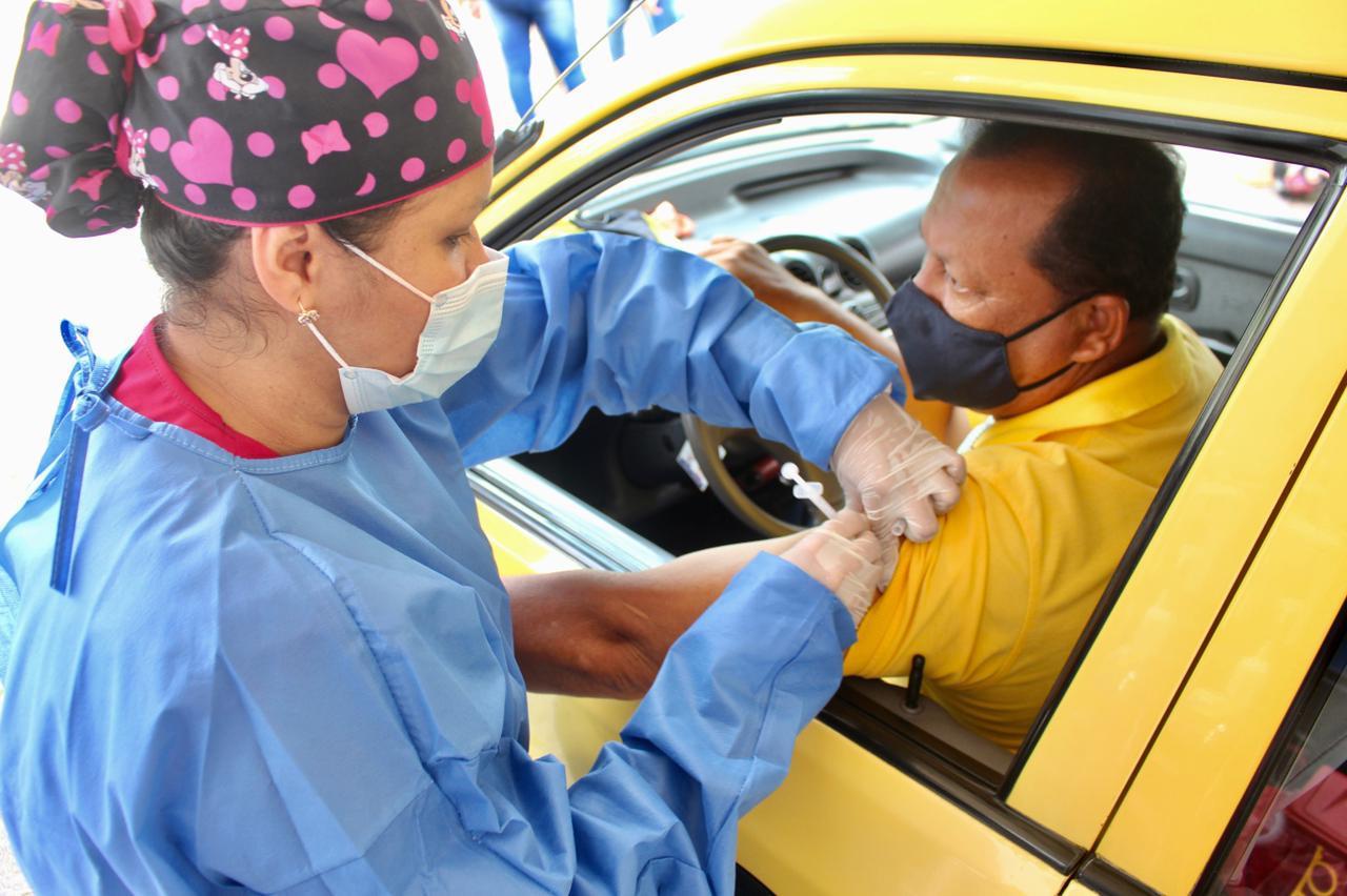 ¡Atención taxistas! Llega la segunda jornada de vacunación contra el Covid-19