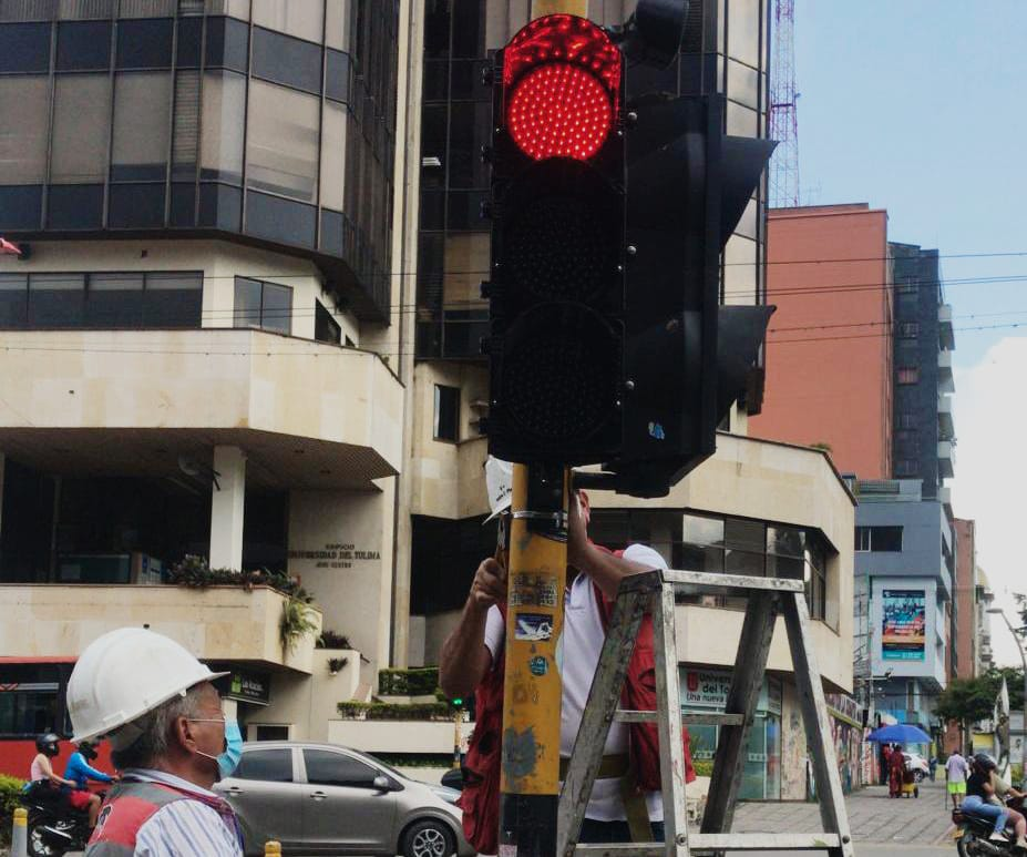 Alcaldía recuperó más de 49 intersecciones semafóricas en Ibagué