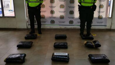 Inacutan 25 kilos de marihuana