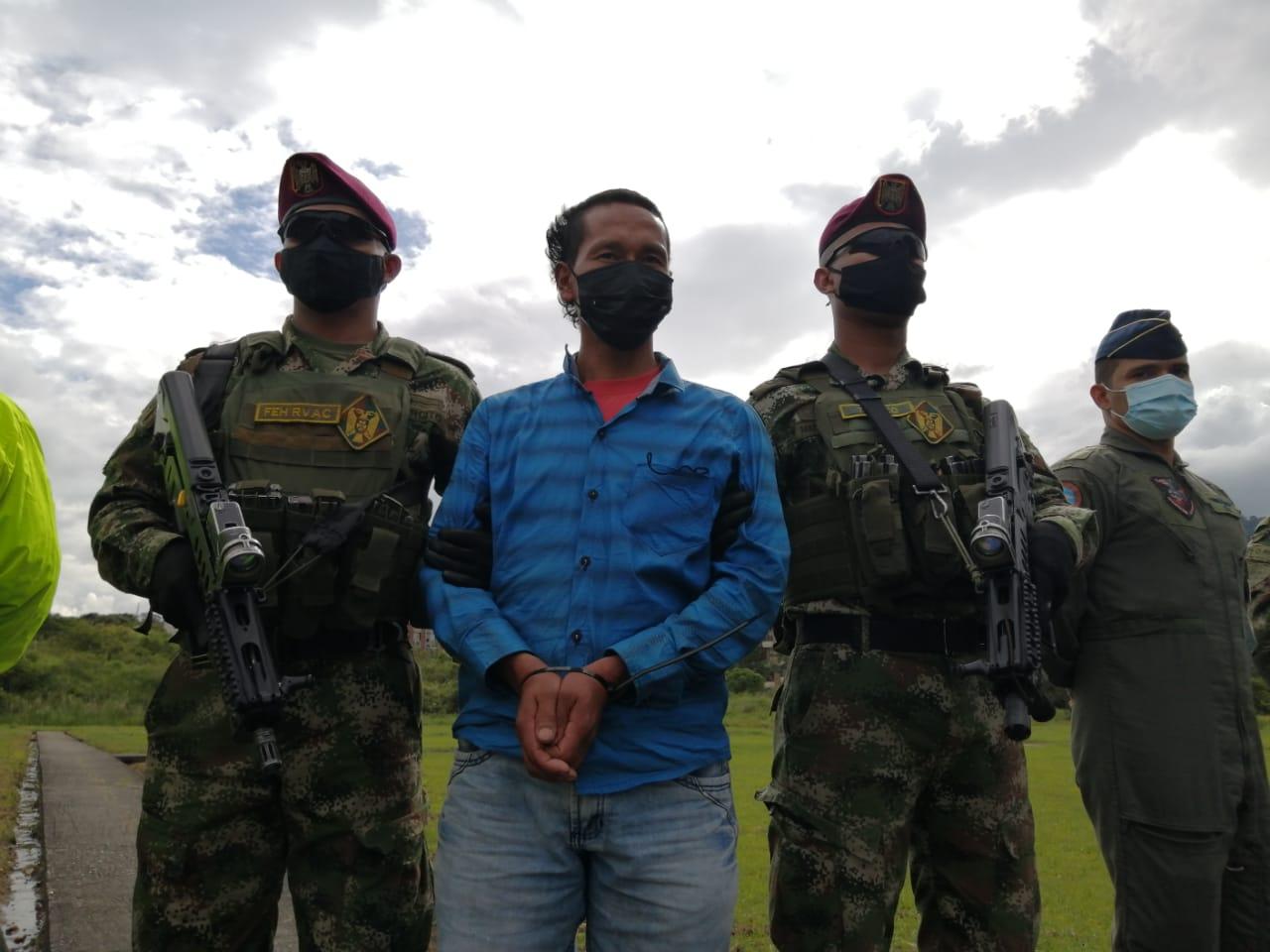 Cayó alias Gerardo cabecilla de Red de apoyo a estructuras residuales Comisión Quinta