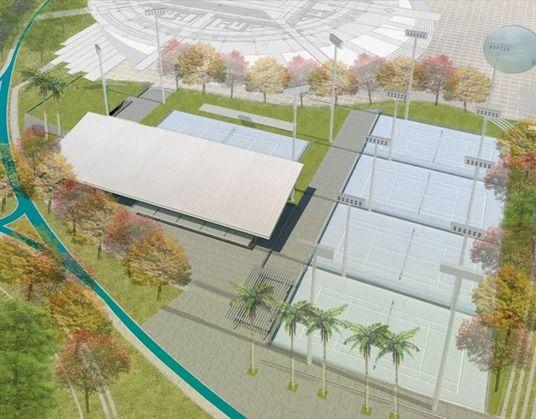 Ibagué tendrá un moderno Complejo de Raquetas en el Parque Deportivo