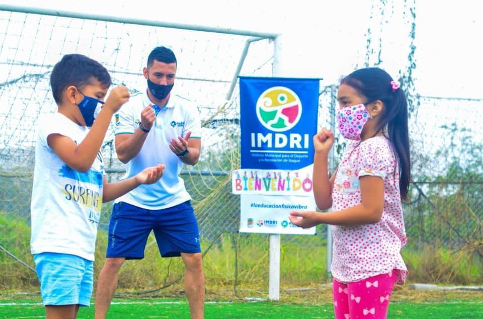 ¡Prográmese con sus hijos para las vacaciones recreativas del Imdri!