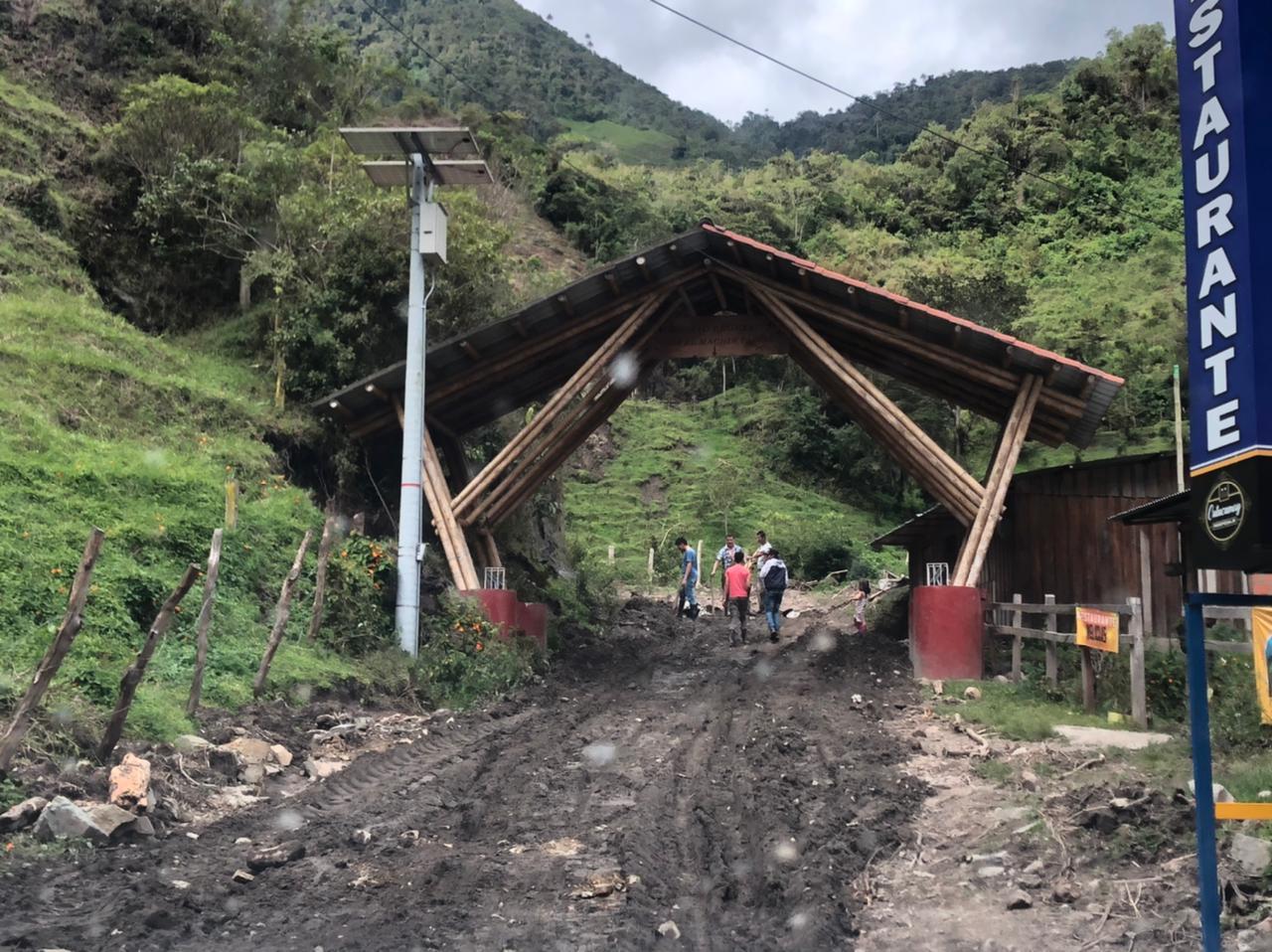 Emergencias por lluvias en zona rural