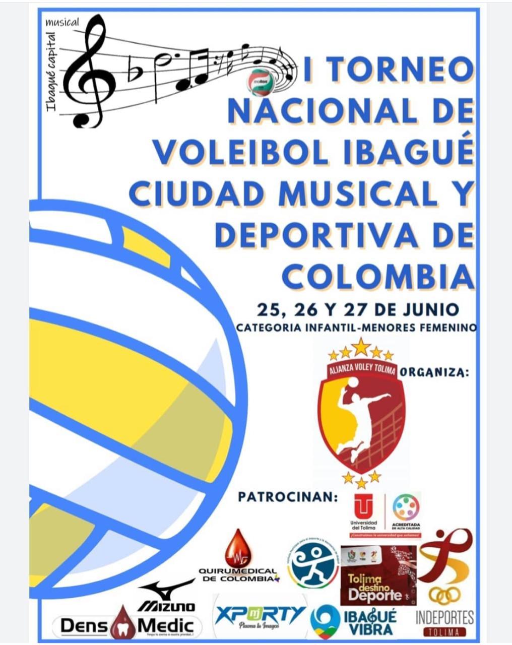 Ibagué será sede de campeonato nacional de voleibol