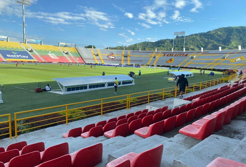 Ya está en Ibagué la nueva pantalla digital para el estadio Manuel Murillo Toro