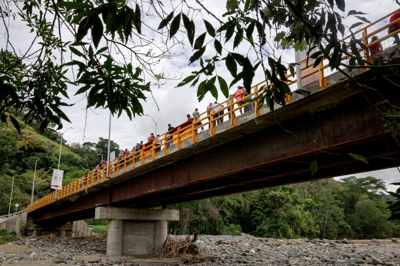 Inauguraron el 'Puente de la Voluntad', en Gualanday