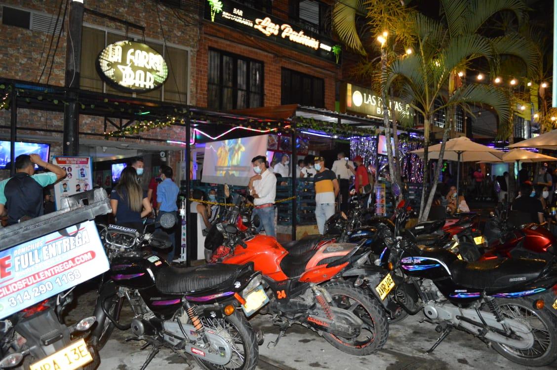 Sellaron otros seis bares de Ibagué en los 'Operativos por la vida'