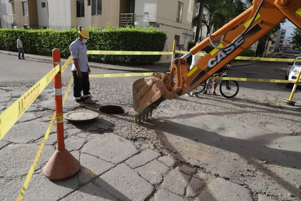Inició la recuperación vial en la carrera Séptima entre calles 65 y 67