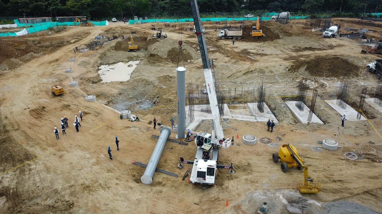 Así avanzan las obras de infraestructura deportiva de Ibagué