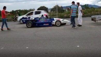 Polémica en Ibagué tras la inmovilización de un vehículo de Fórmula 3