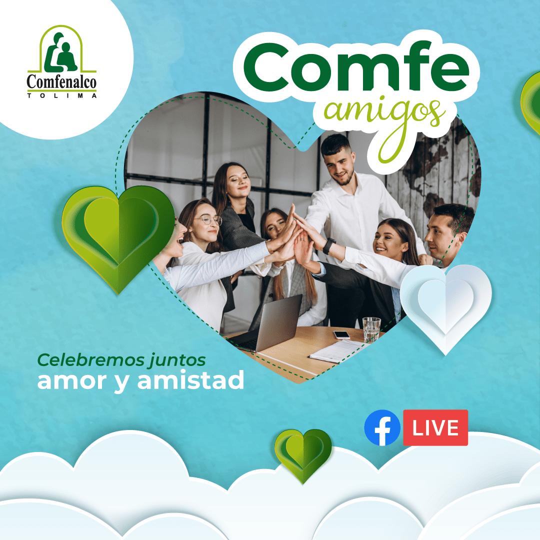 Comfenalco Tolima celebra amor y amistad