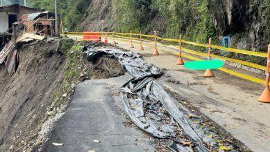 Departamento de Tránsito del Tolima ordena cierre de la vía Villarrestrepo - Juntas
