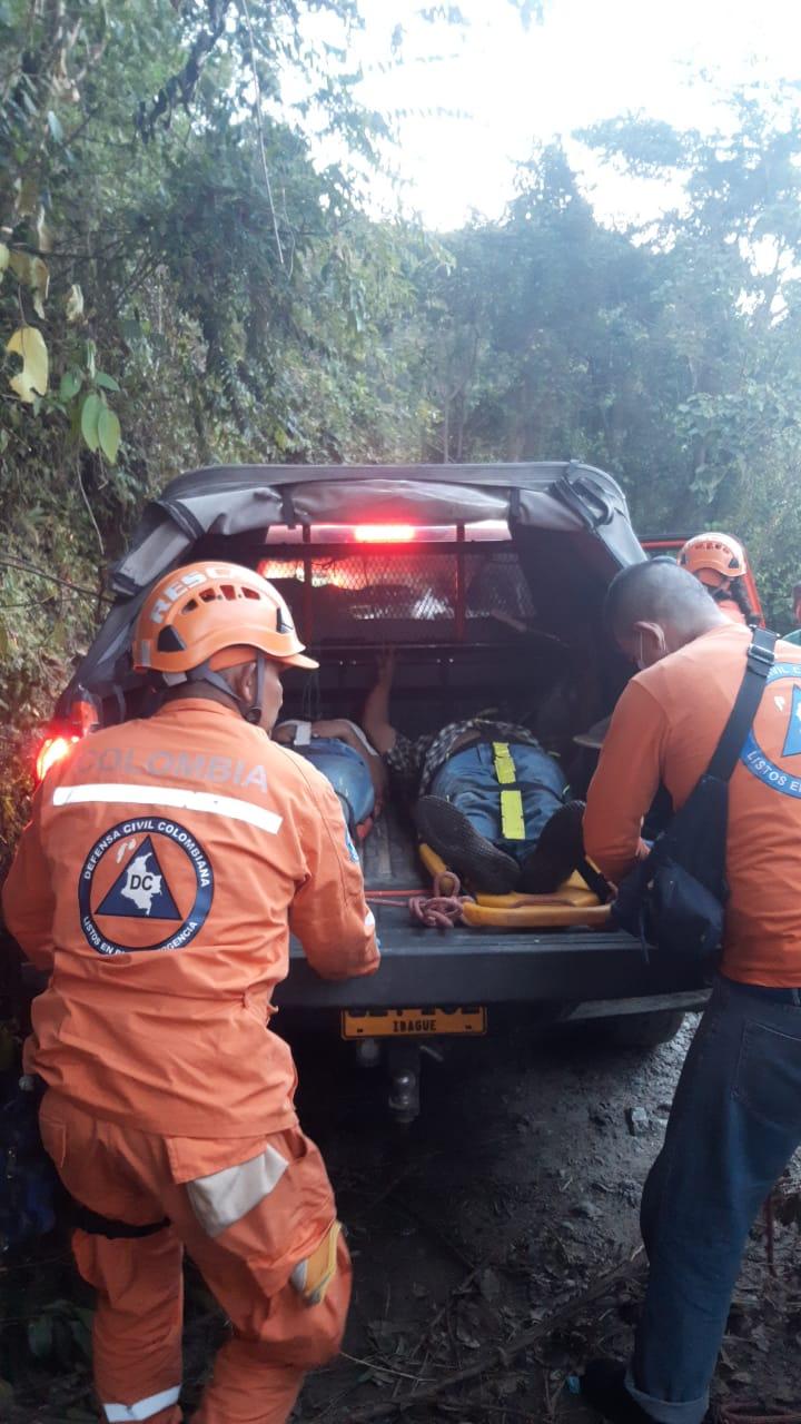 Conozca los nombres de los fallecidos y heridos por caída de 'chiva' a un abismo en el sur del Tolima